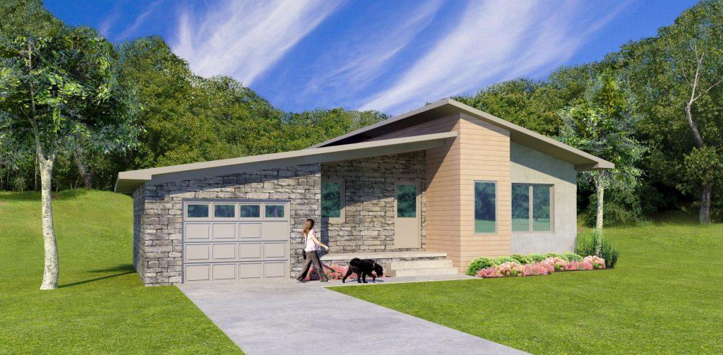 Ranch Home Designs - Contemporary Architecture