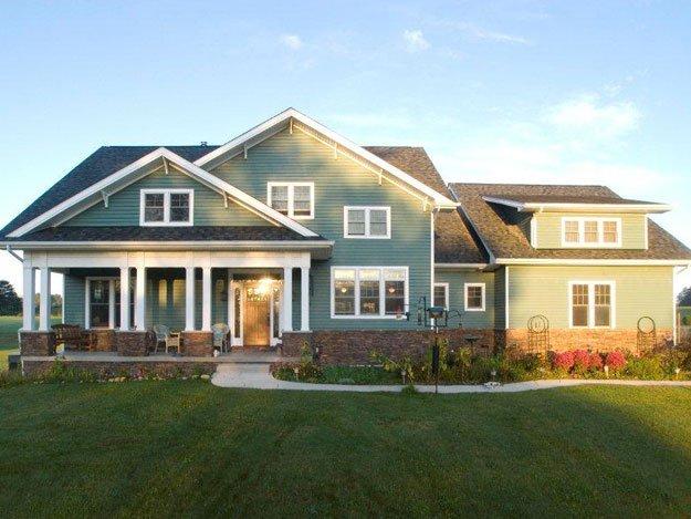 Craftsman Home Design – Elma, NY – DRF Design