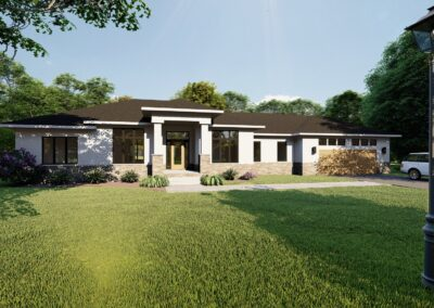 Ranch Style, Distinctive New Home, DRF Designs in Buffalo NY