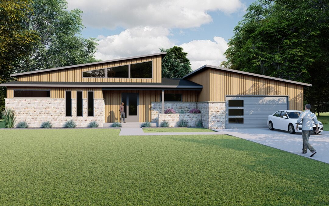 Mid Century Modern, New Project from DRF Design