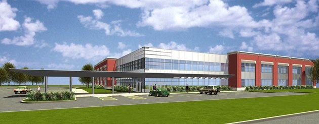 Veterans benefits office building milwaukee wi drf design for 2 story commercial office building plans